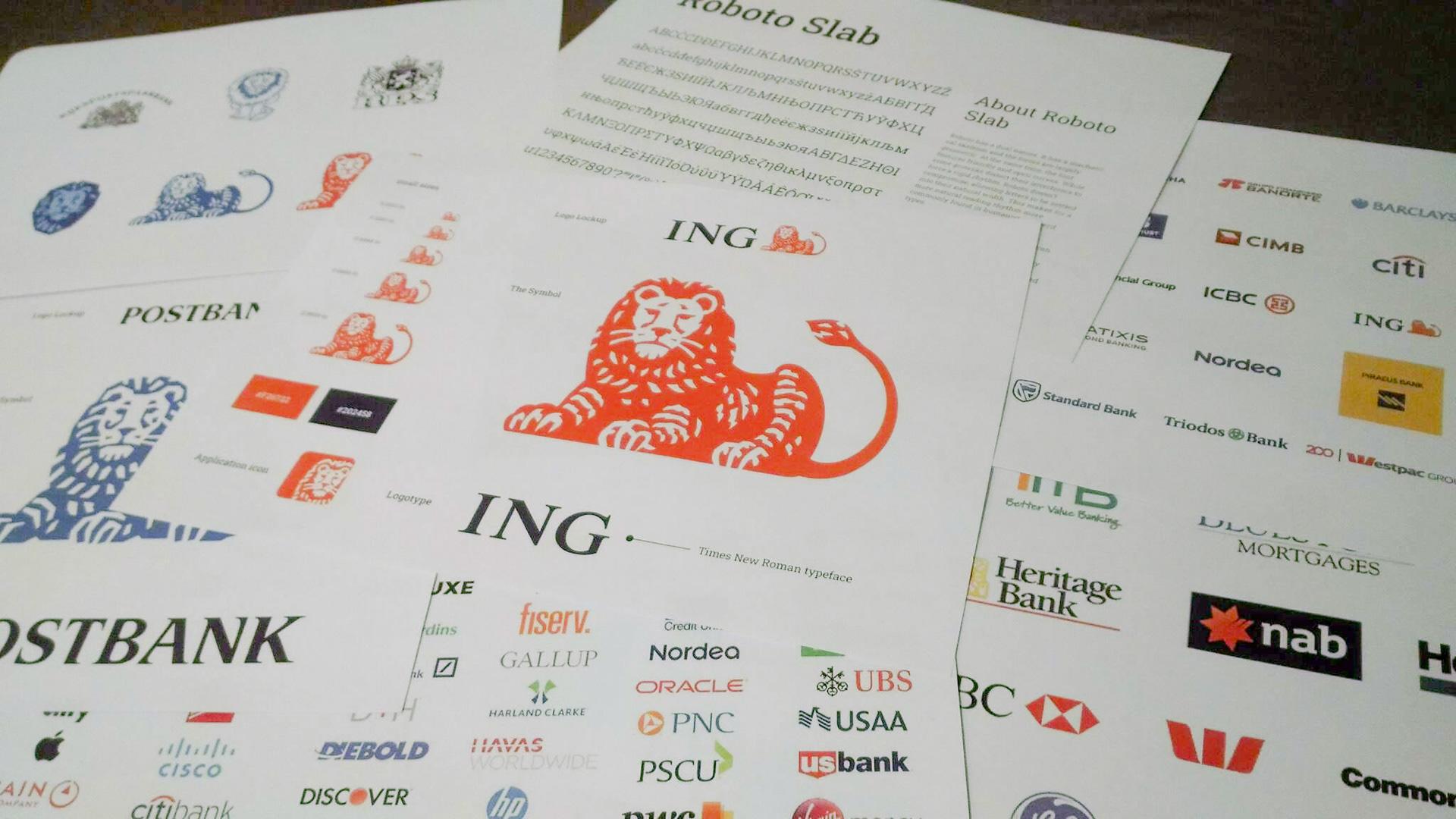 ING bank brand analysis